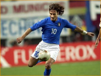 Francesco Totti - Muscle legs