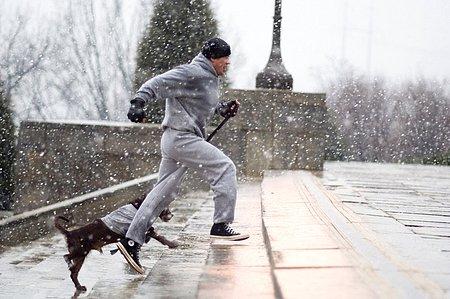 Rocky Balboa and Dog