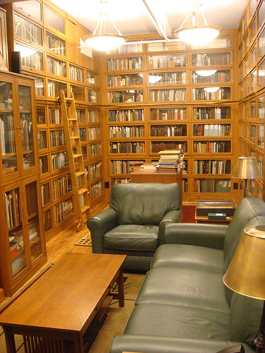 Personal Library Chad Howse