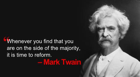 Twait: the majority