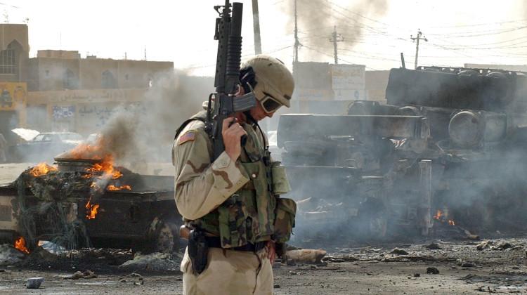 IRAQ AMMUNITION TRUCK